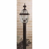 2 Light Newbury Outdoor Fixture shown in Mystic Black by Quoizel Lighting - NY9042K