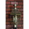 2 Light Newbury Outdoor Fixture shown in Pewter by Quoizel Lighting - NY9042P