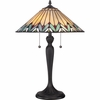 2 Light Pearson Tiffany Table Lamp by Quoizel Lighting - TF1433T