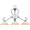 3 Light Duchess Island Light shown in Palladian Bronze by Quoizel Lighting - DH348PN