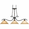 Quoizel Lighting (GE351SE) Genova Island Chandelier in Stonehedge Finish