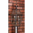 3 Light Newbury Outdoor Fixture shown in Aged Copper by Quoizel Lighting - NY9043AC