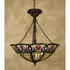 3 Light Tiffany Pendant shown in Vintage Bronze by Quoizel Lighting - TF1438VB