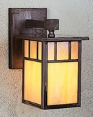 Arroyo Craftsman (HB-4LW) Hand-Crafted 4 Inch Huntington Wall Mount