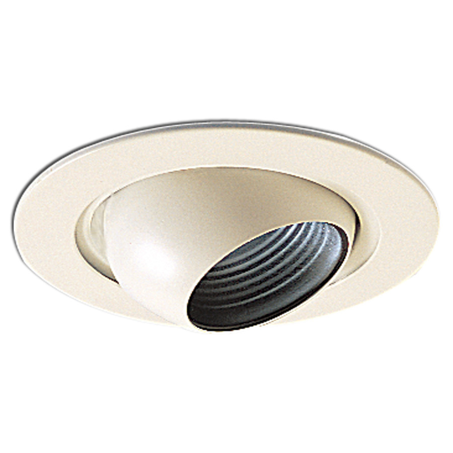 4 inch recessed trim adjustable eyeball with baffle by nora lighting nl 418. Black Bedroom Furniture Sets. Home Design Ideas