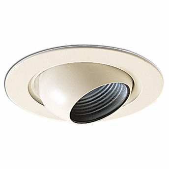 4 Inch Recessed Trim Adjustable Eyeball With Baffle By Nora Lighting NL 418