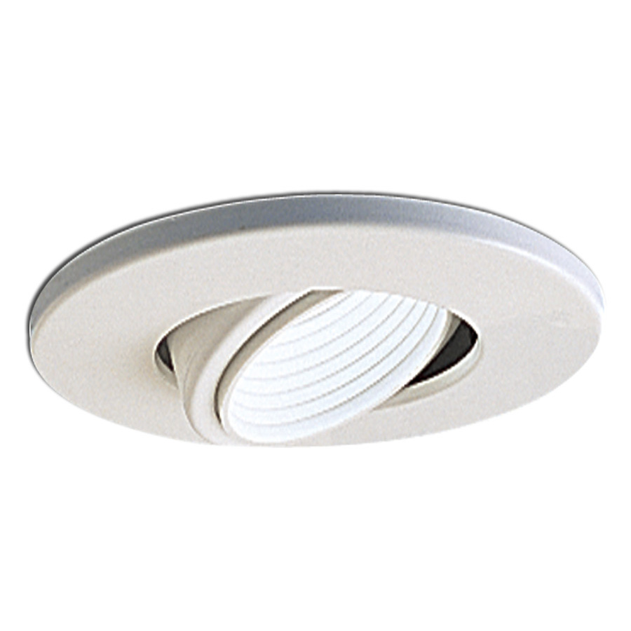 4 Inch Recessed Trim Adjustable Gimbal With Baffle And Ring By Nora Lighting