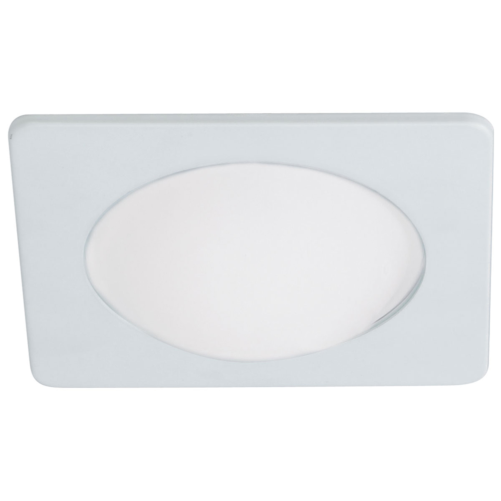 4 Inch Recessed Trim Frosted Dome Lens With Square Trim By Nora Lighting NL