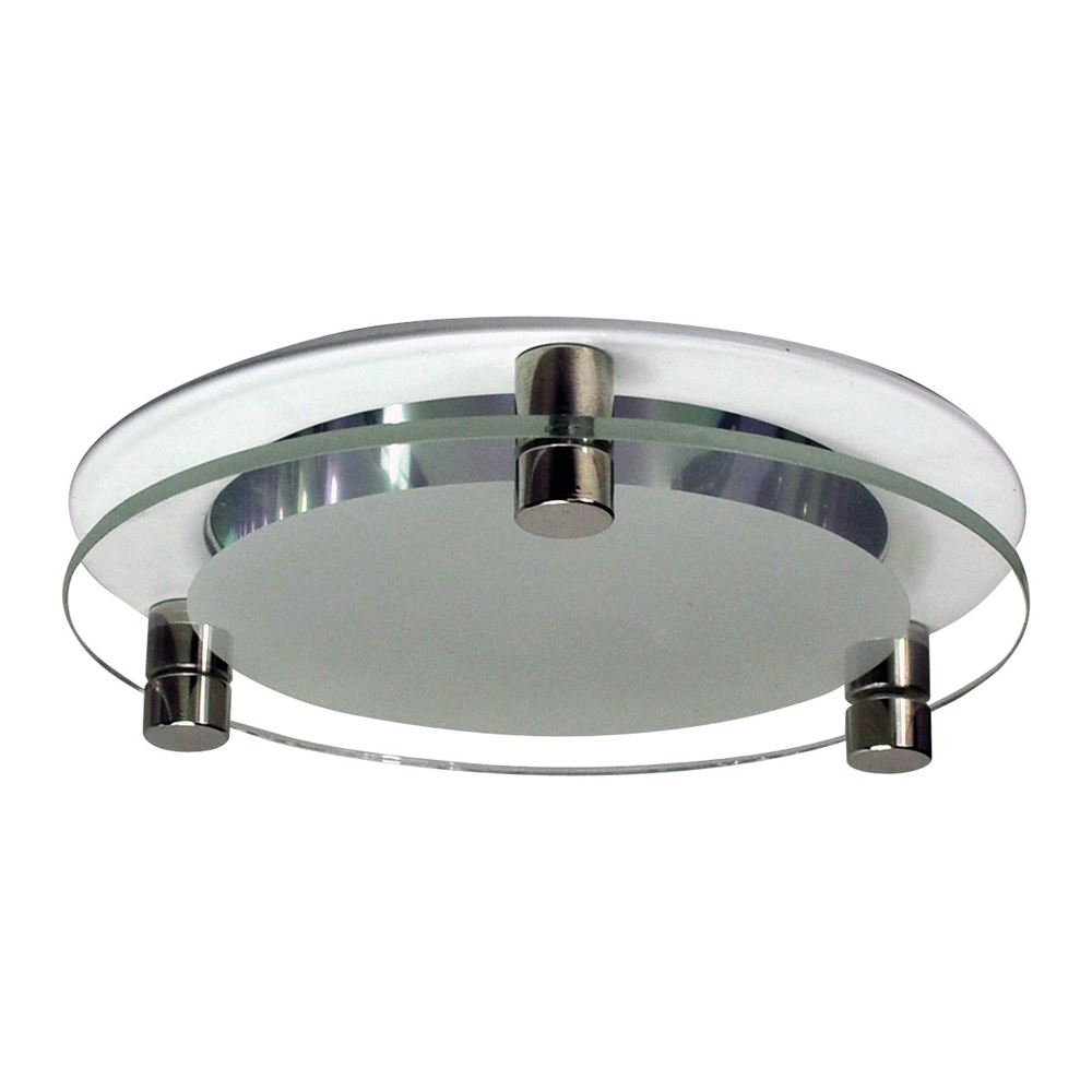 4 Inch Recessed Trim Specular Clear Reflector For Decorative Glass Flange By