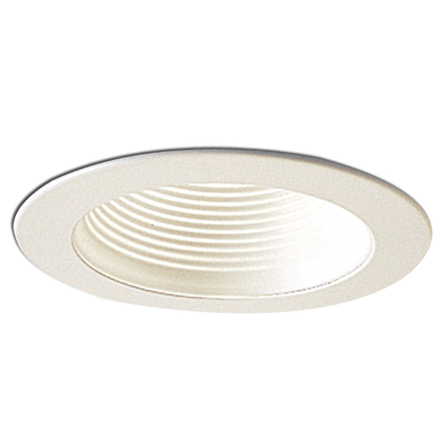4 inch recessed trim stepped baffle with metal ring by. Black Bedroom Furniture Sets. Home Design Ideas