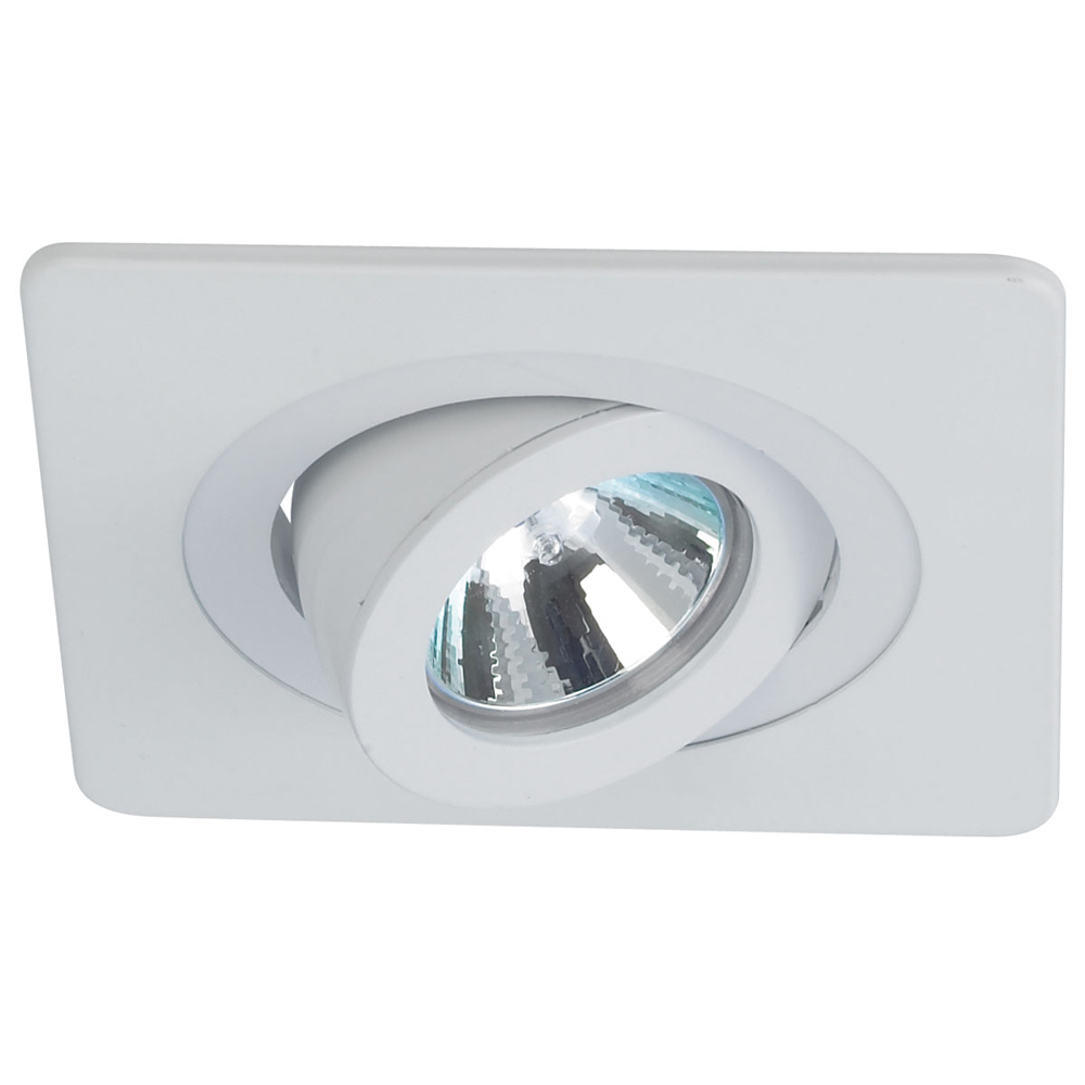 4 Inch Recessed Trim Surface Adjustable With Square Trim By Nora Lighting N