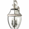 4 Light Newbury Outdoor Fixture shown in Pewter by Quoizel Lighting - NY8339P