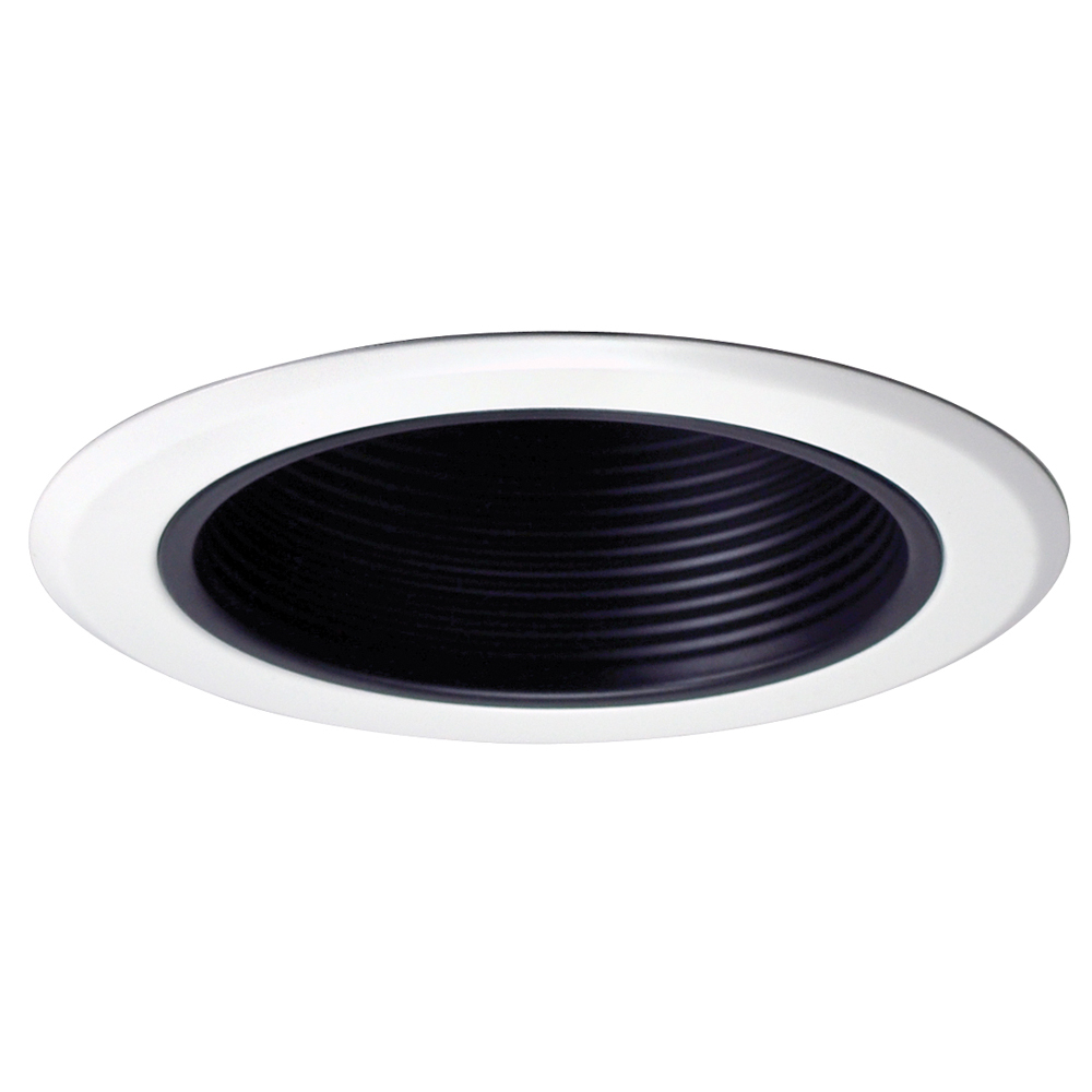 5 inch recessed trim baffle trim and ring by nora lighting. Black Bedroom Furniture Sets. Home Design Ideas