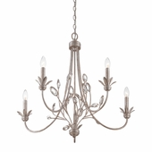 Quoizel Lighting (WSY5005IF) Wesley 5-Light Chandelier in Italian Fresco