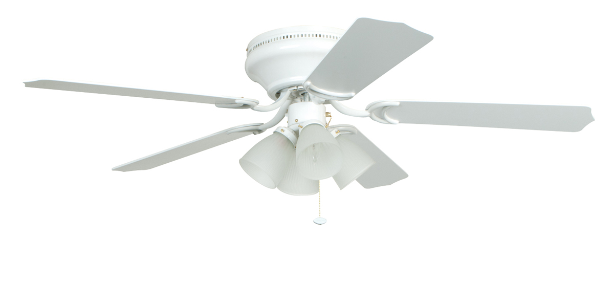 52 white ceiling fan without light – Ceiling Design Gallery