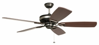 Ellington Fans (SUA56AND5) Supreme Air 56 Inch Ceiling Fan in Dark Antique Nickel