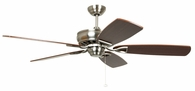Ellington Fans (SUA56BNK5) Supreme Air 56 Inch Ceiling Fan in Brushed Polished Nickel