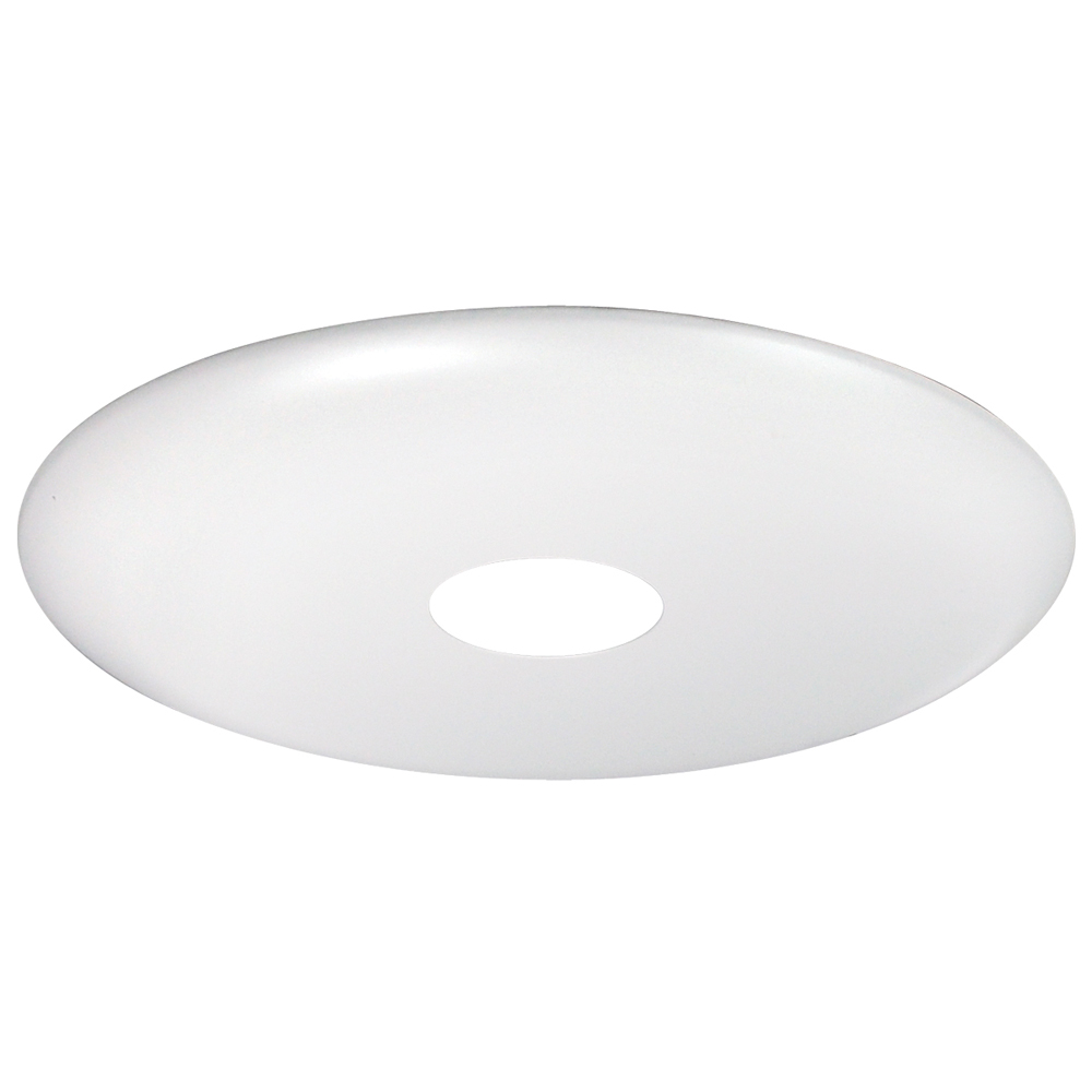 6 Inch Recessed Trim 1 3 4 Inch White Pinhole By Nora Lighting NL 640