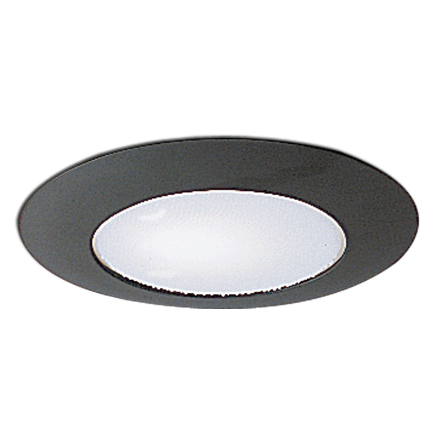 inch recessed trim albalite lens with metal trim and bracket by nora. Black Bedroom Furniture Sets. Home Design Ideas