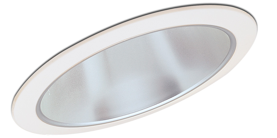 recessed trim specularsloped reflector and flange by nora lighting