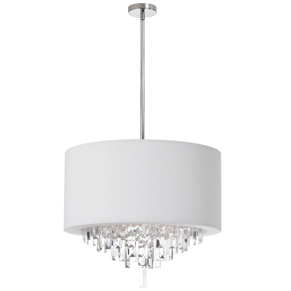 Black Drum Shade Crystal Chandelier Chandeliers Design – Chandeliers with Shades and Crystals