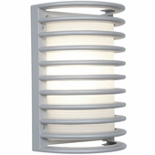 Access Lighting (20300MG) Poseidon 10.75 Inch Marine Grade Sconce shown in Satin
