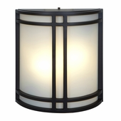 Access Lighting (20362) Artemis 11.5 Inch Outdoor ADA Wall Sconce shown in Bronze