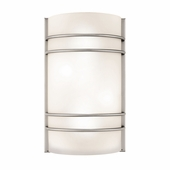 Access Lighting (20416) Artemis 12.25 Inch ADA Wall Sconce shown in Brushed Steel