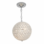 Access Lighting (51007) Kristal 3-Light Pendant shown in Chrome