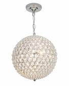 Access Lighting (51008) Kristal 5-Light Pendant shown in Chrome