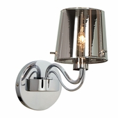 Access Lighting (55530) Milano 1-Light Wall Sconce shown in Chrome