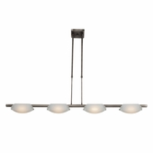 Access Lighting (63958) Nido 42.5 Inch Pendant shown in Matte Chrome