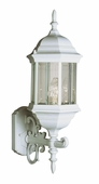 Alicante 1 Light Coach Lantern shown in White by Trans Globe Lighting