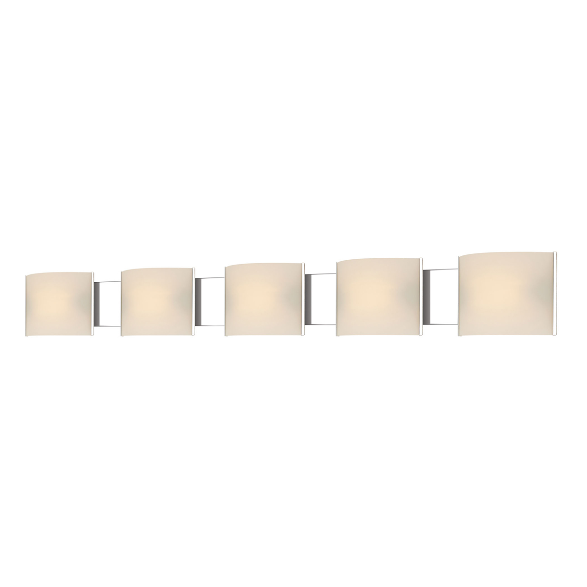 alico lighting bvl715 10 15 pannelli led 5 light vanity fixture in. Black Bedroom Furniture Sets. Home Design Ideas