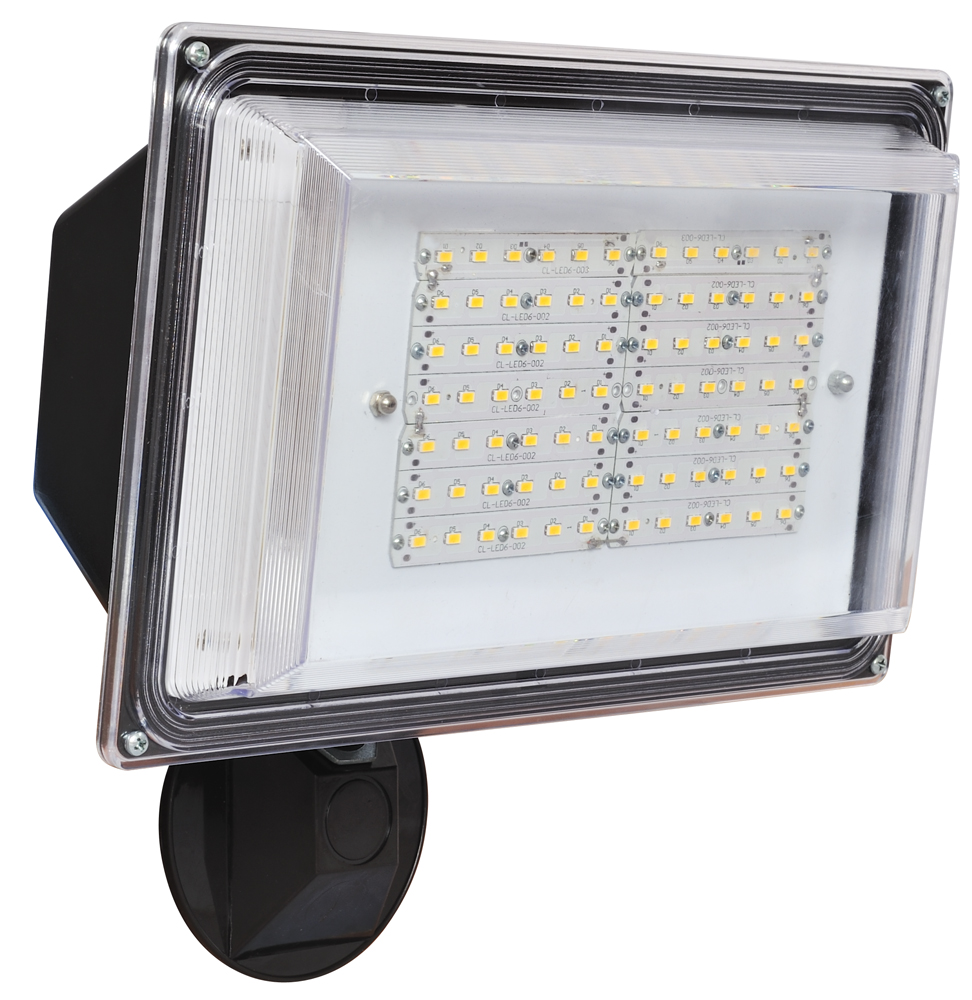 Amax Lighting LED SL42 Modern Contemporary Outdoor LED Security Light Wall Pa