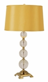Antique 1 Light Table Lamp shown in Antique Gold by Trans Globe Lighting