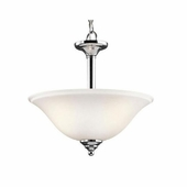 Armida Convertible 2 Light shown in Chrome by Kichler Lighting