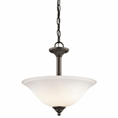 Armida Convertible 2 Light shown in Olde Bronze by Kichler Lighting