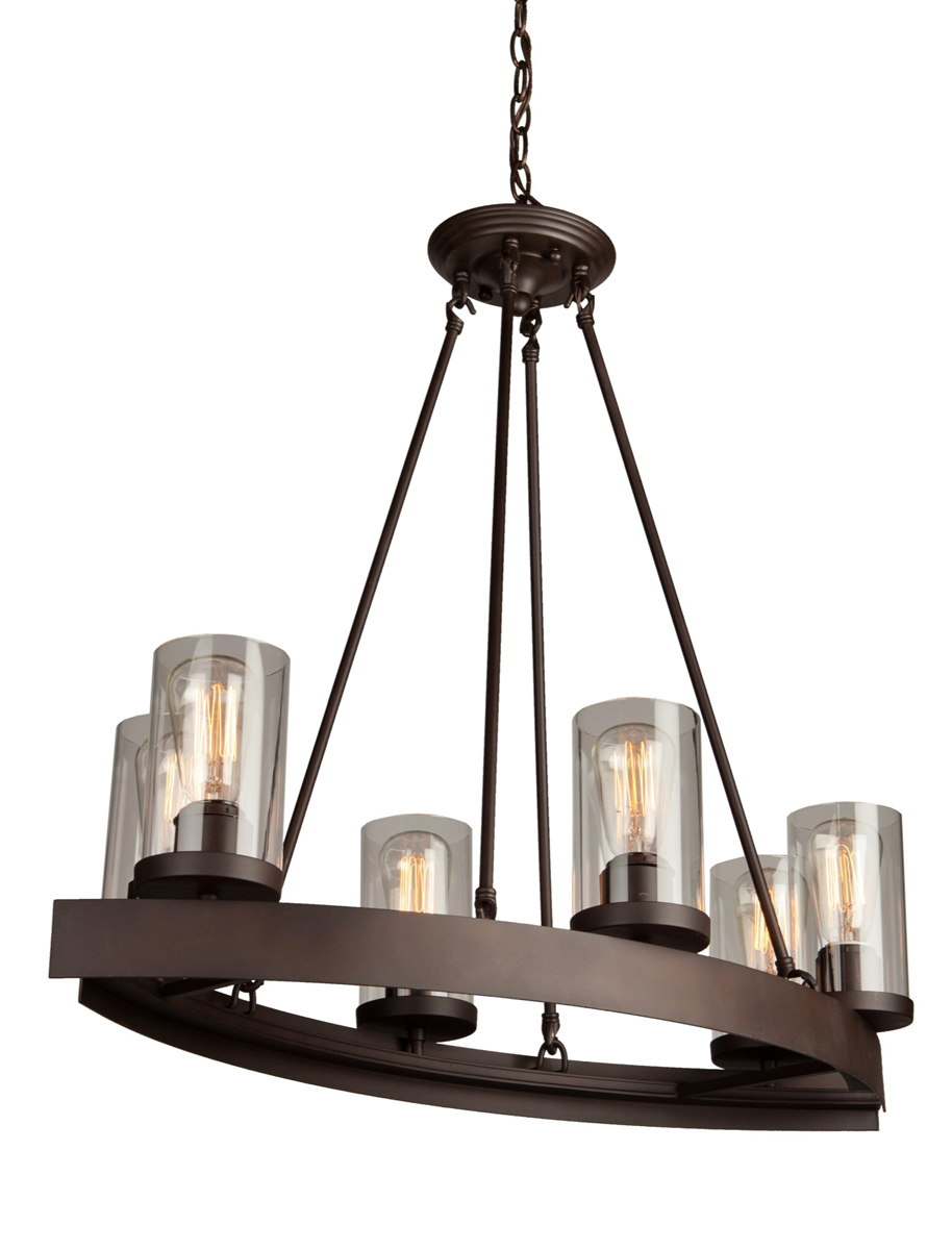 Oval Chandeliers: ,Lighting