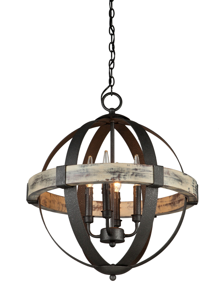 artcraft lighting ac10015 castello 4 light 20 inch orb chandelier
