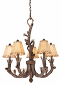 Vaxcel Lighitng (AS-CHS005) Aspen 5 Light Chandelier