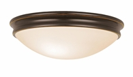 Atom Flush-Mount shown in Oil-Rubbed Bronze by Access Lighting