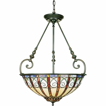 Ava- European Style Ava Pendant In Vintage Bronze Finish From Quoizel Lighting- TFAV2823VB
