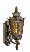 Avignon Exterior 1 Light Wall Lantern Wall Mount shown in Avignon Bronze by Corbett Lighting