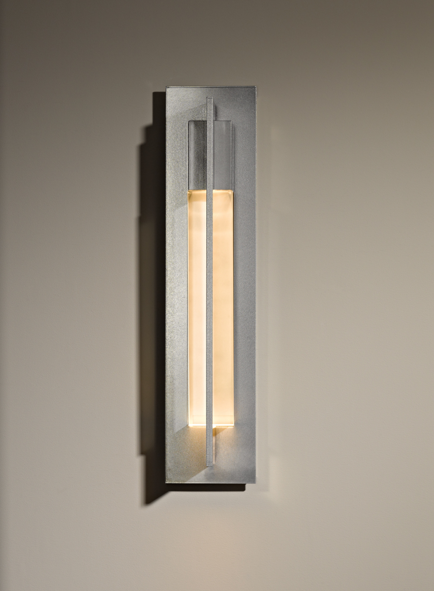 hubbardton forge 206430 1 light large axis wall sconce shown in