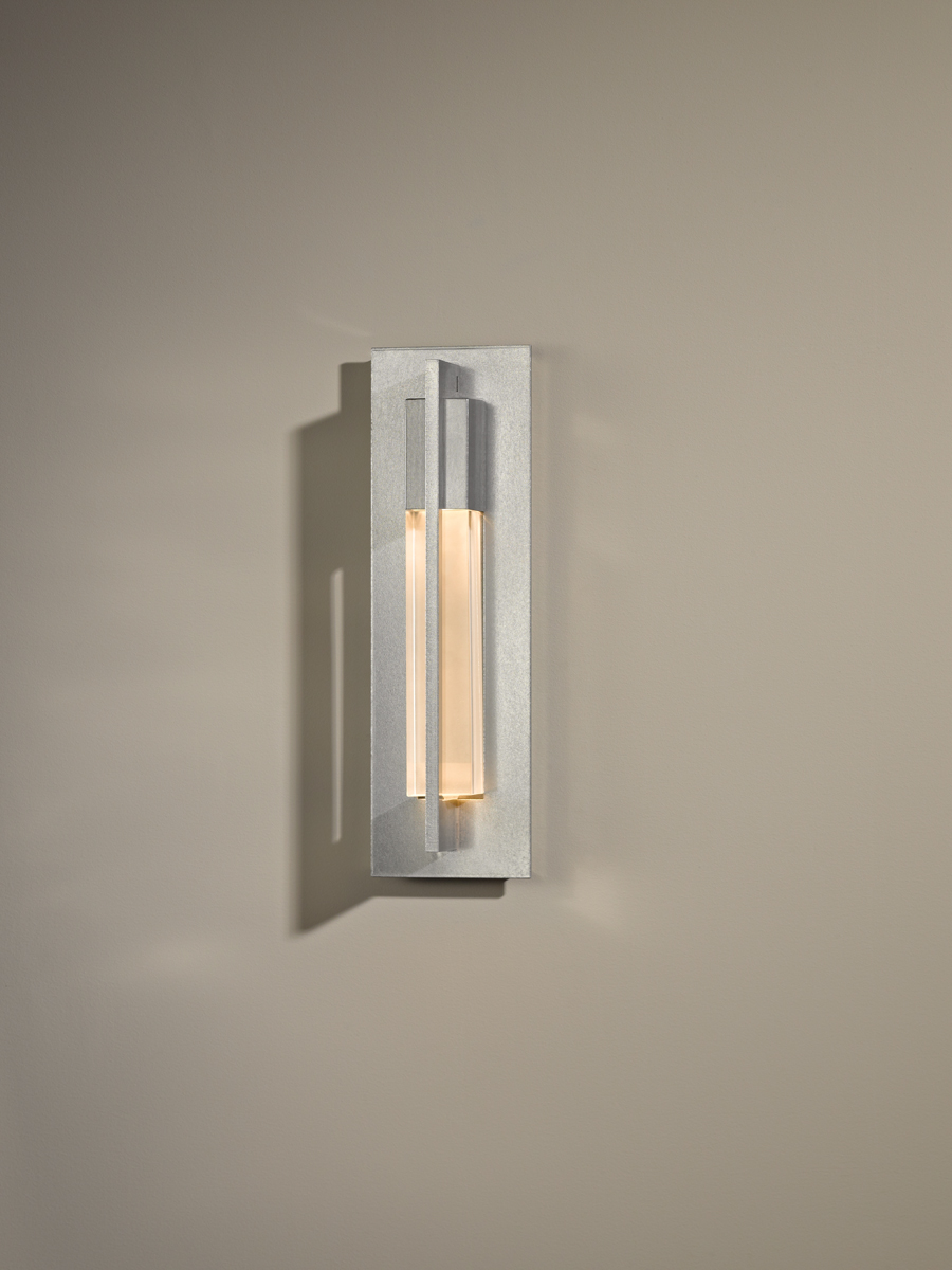 hubbardton forge 206420 1 light axis small wall sconce shown in