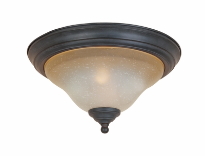 Designers Fountain (96121-NI) Barcelona Ceiling Flushmount in Natural Iron