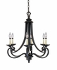 Designers Fountain (9036-NI) Barcelona 6 Light Chandelier in Natural Iron