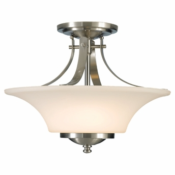 Barrington Collection Semi Flushmount from Murray Feiss Lighting -SF241