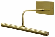 Battery Operated Slim-LED 14 Inch Satin Brass Picture Light by House of Troy